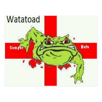 Watatoad - semper bufoltiple Produkte ausgewählt) Postkarten