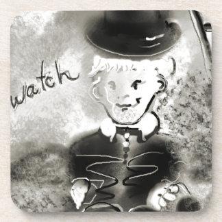 watchb&w getränkeuntersetzer