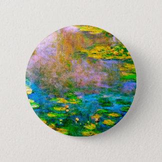 water-lilies-013 runder button 5,1 cm