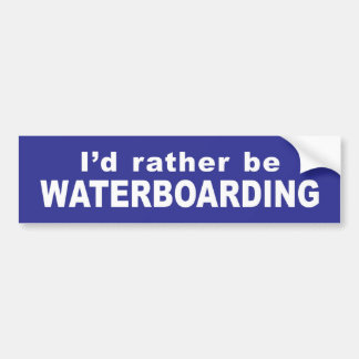 Waterboard Autoaufkleber