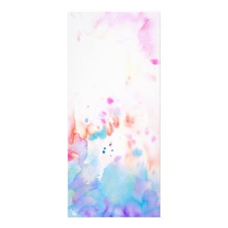 Watercolor-abstrakte Werbekarte