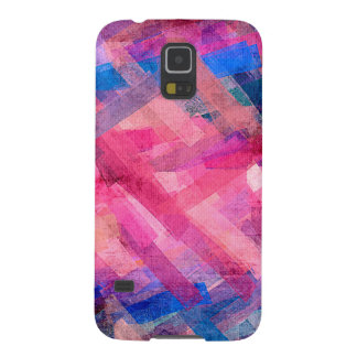 Watercolor-abstraktes Streifen-Muster #9 Galaxy S5 Cover