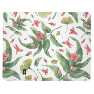 Watercolor-Blumen Taschennotizbuch