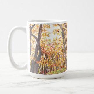 Watercolor-Fall-Baum-Tasse Kaffeetasse