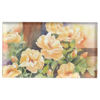 Watercolor-gelbe Rose
