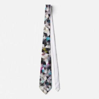 Watercolor-Krawatte geometrisches 50-1 Individuelle Krawatten