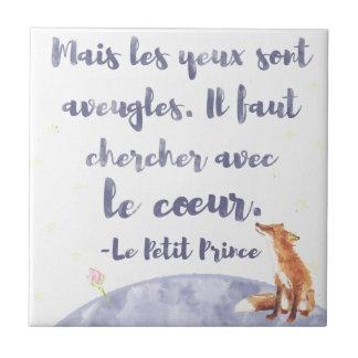 Watercolor Le Petit Prinz der kleine Prinz Fliese