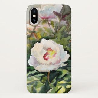 Watercolor-Malerei der schönen Blumen iPhone X Hülle