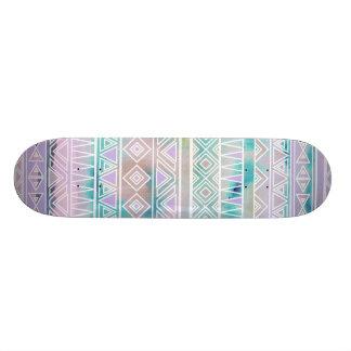 Watercolor-Pastellazteke-inspiriertes Muster Personalisiertes Deck