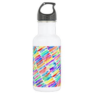 Watercolor Rainbow Trinkflasche