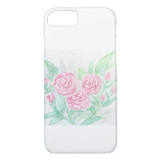 Watercolor-Rosen-Licht iPhone 8/7 Hülle