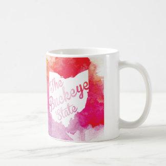Watercolor-Rosskastanien-Staats-Tasse Kaffeetasse