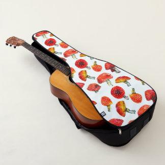 Watercolor vermehrt sich niedliches Fallmuster Gitarrentasche
