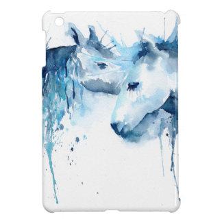 Watercolorpferdekuß, PferdeLiebe iPad Mini Hülle