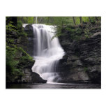 Waterfall Nature Tree Leaf Peace Love Park Destiny Post Cards