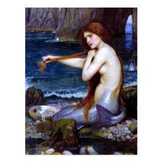 Waterhouse: Die Meerjungfrau Postkarte