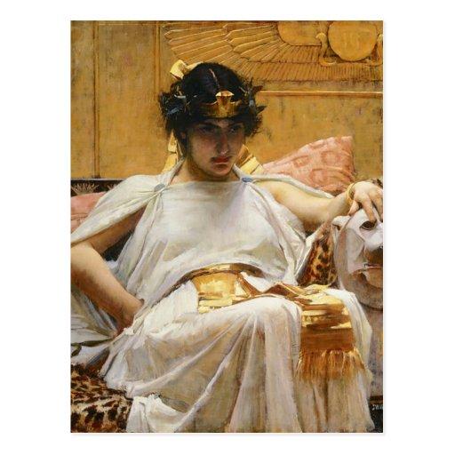 Waterhouse-Kleopatra-Postkarte
