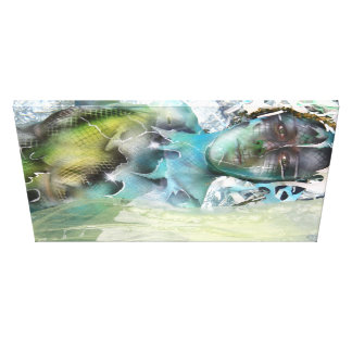 Waterline, kunstdruck, druck, artprint, print gespannter galeriedruck