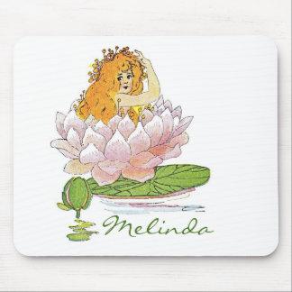 Waterliy, kundengebundene Fee der Lilienauflage Mousepad