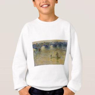 Waterloo-Brücke durch Claude Monet Sweatshirt