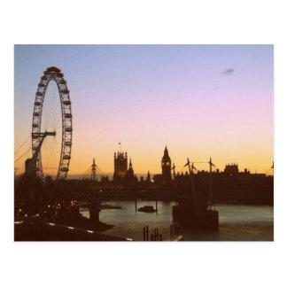 Waterloo-Sonnenuntergang-Postkarten Postkarte