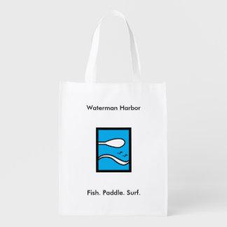 Waterman-Hafen Wiederverwendbare Tragetaschen
