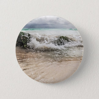 WaterOnRocks Runder Button 5,7 Cm