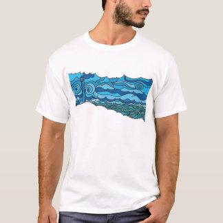 Waterscape mit Leuchtturm T-Shirt