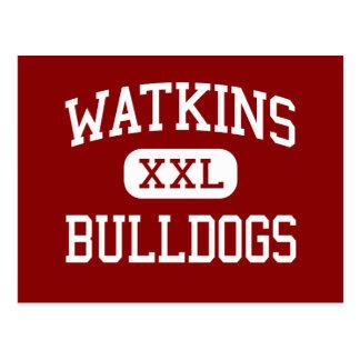 Watkins - Bulldoggen - Jüngeres - Houston Texas Postkarte