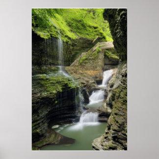 Watkins Glen Waterfall  Print