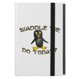 Watscheln Sie uns tun heute Pinguin iPad Mini Hülle
