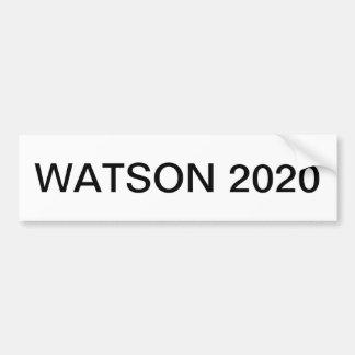 WATSON 2020 AUTOAUFKLEBER