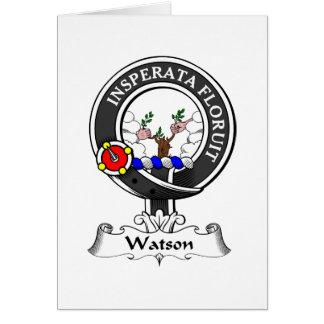Watson-Clan-Wappen Karte