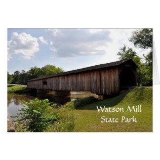 Watson-Mühlüberdachte Brücke Karte