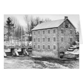 Watsons Mühle in Manotick, Ontario Karte