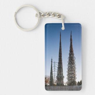 Watt der Turm-Los Angeles Schlüsselanhänger
