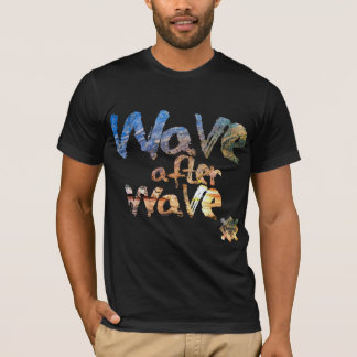 """Wave wave,"""" Revo Clothing BR """"after, T-Shirt"""