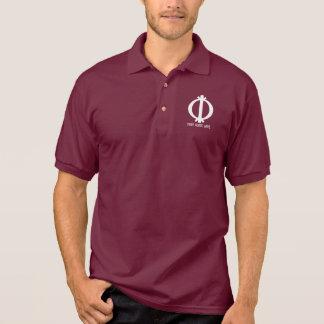 Wawa ABA   Adinkra Symbol von Härte Polo Shirt