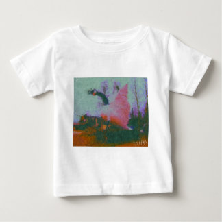 wawa Gansmalerei vom Hirsch Baby T-shirt