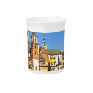 Wawel Schloss, Krakau, Polen Getränke Pitcher