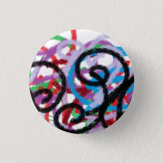 Waxornamente Runder Button 3,2 Cm