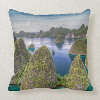 Wayag Insellandschaft, Indonesien Kissen