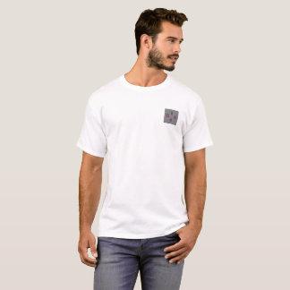 WayFromMe Taschenlogo und des Mottos Rückseite an T-Shirt