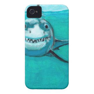 """""""Wayne"""" der Weiße Hai iPhone 4 Hüllen"""