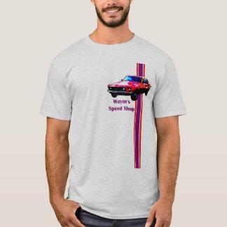 Waynes Mustang spped Geschäft T-Shirt
