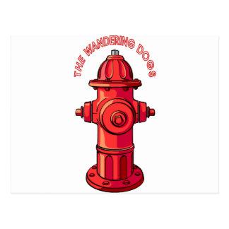 WD Hydrant Postkarte