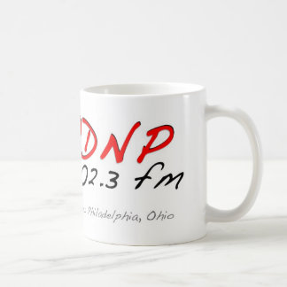 WDNP 102,3 Dover/neuen Philadelphias, Ohio Radio Kaffeetasse