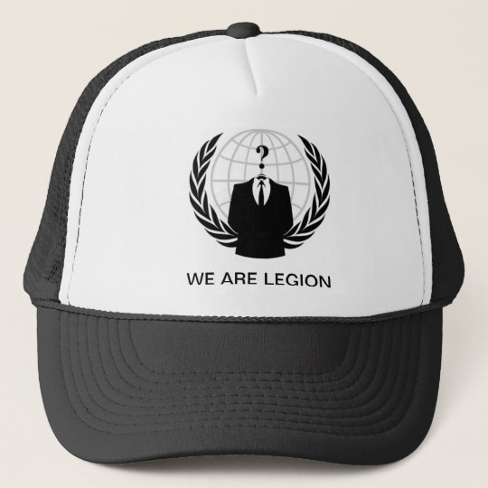 We are Legion CAP! Truckerkappe