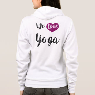 """We love Yoga "" Hoodie"
