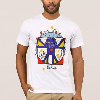 We pflügt Blue T-Shirt
